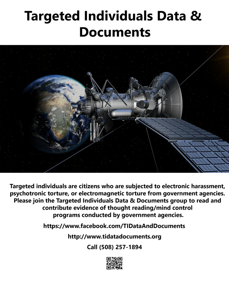 Flyers – Targeted Individuals Data & Documents